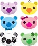 Ursos bonitos Imagens de Stock