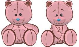 Ursos da peluche Ilustração Royalty Free