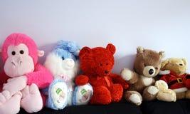 Ursos da peluche imagem de stock