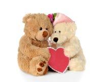 Ursos de amor Imagem de Stock Royalty Free