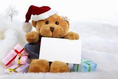 Ursos de Chrismast Fotografia de Stock