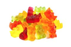 Ursos de Gummi Fotografia de Stock