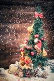 Ursos de peluche do Natal na vida ainda Fotos de Stock Royalty Free