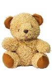 ursos de peluche isolados no branco Imagens de Stock Royalty Free