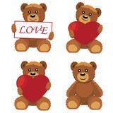 Ursos do brinquedo. Fotos de Stock Royalty Free