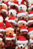 Ursos do Natal Imagens de Stock Royalty Free