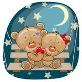 Ursos dos amantes Foto de Stock Royalty Free