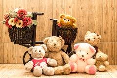 Ursos dos pares Imagens de Stock Royalty Free