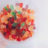 Ursos gomosos imagem de stock