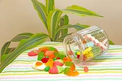 ursos gomosos Multi-coloridos Foto de Stock