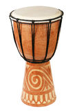 Ursprüngliche afrikanische djembe Trommel Stockfotografie