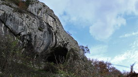 Ursprüngliche Alters-Höhle Timelapse stock footage