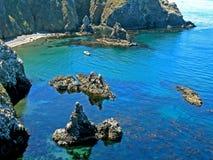 Ursprüngliche Anacapa Bucht lizenzfreies stockbild