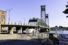Ursprüngliche Denkmal-Brücke des Ersten Weltkrieges Stockfotos