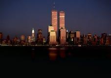 Ursprüngliche Manhattan-Skyline Stockbilder
