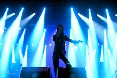 Ursprüngliche Schreiband im Konzert bei Vida Festival Stockfotografie