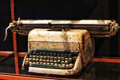 Ursprüngliche Schreibmaschinenweinlese ist klassisch lizenzfreie stockfotografie