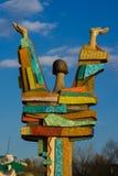 Ursprüngliche Skulptur Lizenzfreie Stockfotos