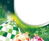 Ursprüngliche Weihnachtsdekorationen Stockbilder