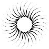 Ursprünglicher abstrakter Halbtonhintergrund von runden Punkten vektor abbildung