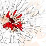 Ursprünglicher Hintergrund mit Blume vektor abbildung