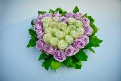 Ursprünglicher Hochzeitsblumenstrauß Stockbild