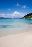 Ursprünglicher karibischer Strand Lizenzfreies Stockbild
