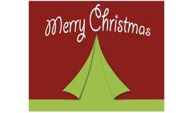 Ursprünglicher Kartenentwurfshintergrund, zum von Weihnachten mit den Wort frohen Weihnachten zu beglückwünschen Frohe Weihnachte lizenzfreies stockbild