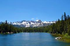 Ursprünglicher Mammoth Mountain See Stockfoto