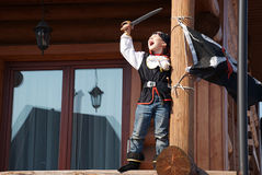 Ursprünglicher Pirat Stockbild