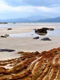 Ursprünglicher tropischer Strand. Lizenzfreie Stockfotografie