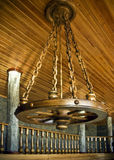 Ursprüngliches chardelier in der Form eines Rades Lizenzfreie Stockbilder