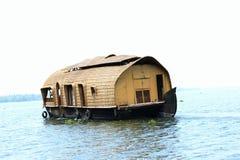 Ursprüngliches Hausboot/Hütte stockbilder