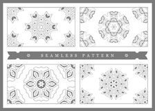 Ursprüngliches nahtloses Muster, hohe Qualität Rhythmisches Muster, basiert auf Symmetrie lizenzfreie abbildung