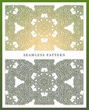 Ursprüngliches nahtloses Muster, hohe Qualität Rhythmisches Muster, basiert auf Symmetrie stockfoto