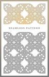 Ursprüngliches nahtloses Muster, hohe Qualität Rhythmisches Muster, basiert auf Symmetrie lizenzfreies stockbild