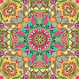 Ursprüngliches nahtloses Muster Paisleys Stockfotos