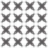 Ursprüngliches Schwarzweiss-Muster Stockfotografie