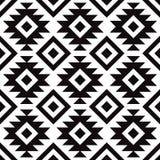Ursprüngliches skandinavisches modernes Schwarzweiss-Muster lizenzfreies stockbild