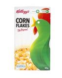 Ursprüngliche Frühstückskost aus Getreide der Kellogg's-Corn Flakes Stockfoto