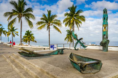 Ursprung och destination - Puerto Vallarta, Mexico Arkivfoton