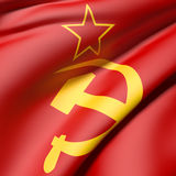 Urss flag Stock Photo