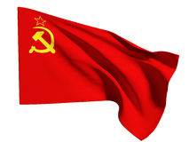 Urss flag Royalty Free Stock Images