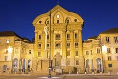 Ursuline Church av den heliga Treenighet Arkivfoton