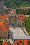 Ursuline Church della trinità santa Fotografie Stock Libere da Diritti