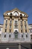 Ursuline Church of the Holy Trinity in Ljubljana Stock Images
