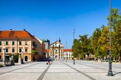 Ursuline Church Of The Holy Trinity Ljubljana Slovenia Stock Images