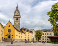 Free Ursuline Church In Brunico - Italy Stock Photo - 81823410