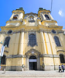 Ursuline Church Linz Royalty Free Stock Photo