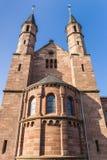 Ursulinenkloster修道院的门面在杜德尔斯塔特 免版税库存照片